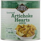First Street Artichoke Hearts, Quartered