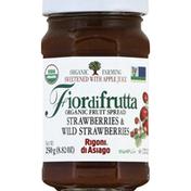 Rigoni Di Asiago Fruit Spread, Organic, Strawberries & Wild Strawberries