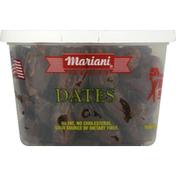 Mariani Dates, Premium, Sun-Ripened, Pitted