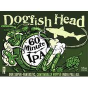 Dogfish Head Beer, 60 Minute IPA, 12 Pack