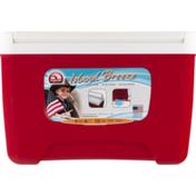 Igloo Cooler, Red, 9 Quarts