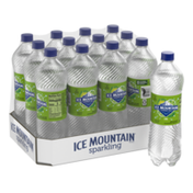Ice mountain Sparkling Water, Zesty Lime