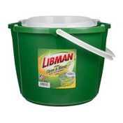 Libman 4 Gallon Clean & Rinse Bucket With Wringer
