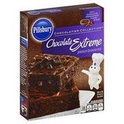 Pillsbury Brownie Mix, Premium, Chocolate Extreme