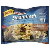 Birds Eye Meals for Two, with Fresh Frozen Vegetables, Roasted Beef in a Mushroom Sauce