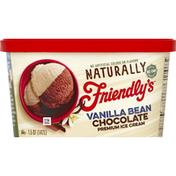 Friendly's Ice Cream, Premium, Vanilla Bean Chocolate