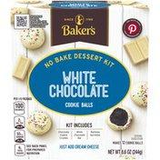 Baker'S White Chocolate Cookie Balls No Bake Dessert Kit
