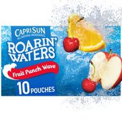 Capri Sun Fruit Punch Wave Naturally Flavored Water Beverage