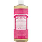 Dr. Bronner's 18-In-1 Hemp Pure-Castile Soap Rose