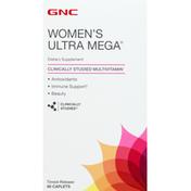 GNC Women's Ultra Mega, Caplets