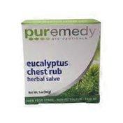 Puremedy Eucalyptus Chest Rub Herbal Salve