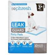 SoPhresh Leak Guard Potty Pads