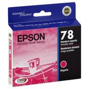 Epson Ink Cartridge, Standard Capacity, Magenta T078320