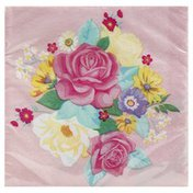 Party Creations Napkins, Floral Tea Party, 2-Ply