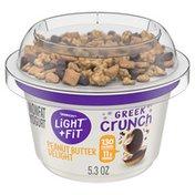 Light + Fit Crunch Nonfat Yogurt & Toppings Peanut Butter Delight