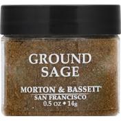 Morton & Bassett Spices Sage, Ground