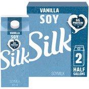 Silk Vanilla Soy Milk
