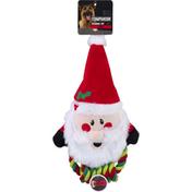 Companion Dog Toy, Seasonal, Santa