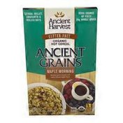 Ancient Harvest Ancient Grains Maple Morning Ancient Grains Kissed With Warm Natural Maple Flavor Gluten-free Organic Hot Cereal
