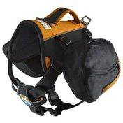Kurgo Bakter Black & Orange Dog Backpack