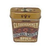 Clawhammer Organic Spicy Ginger Root Mints