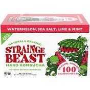 Strainge Beast Watermelon, Sea Salt, Lime & Mint Hard Kombucha Beer