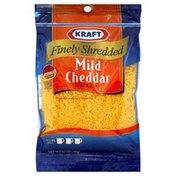Kraft Shredded Cheese, Mild Cheddar, Natural