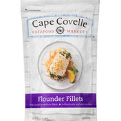 Cape Covelle Seafood Market Flounder, Fillets