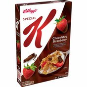 Kellogg's Special K Breakfast Cereal, 11 Vitamins and Minerals, Chocolatey Strawberry