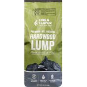 Fire & Flavor Hardwood Lump, All Natural, Premium