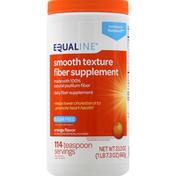 Equaline Fiber Supplement, Smooth Texture, Sugar Free, Orange Flavor