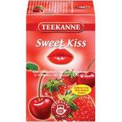 Teekanne Sweet Kiss Cherry-Strawberry Flavored Fruit Infusion Tea Tea Bags