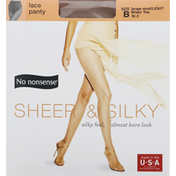 No nonsense Lace Panty, Beige Mist/Light, Size B