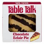 Table Talk Eclair Pie Chocolate