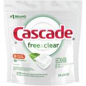Cascade Actionpacs Dishwasher Detergent Pods, Orange Blossom