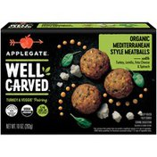 Applegate Organic Mediterranean Style Turkey & Veggie Meatballs