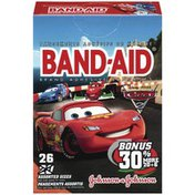 Band-Aid Children's Disney Pixar Cars Assorted Size Adhesive Bandages