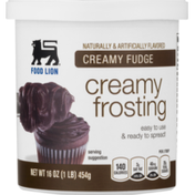 Food Lion Frosting, Creamy Funde, Cup/Tub