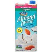 Almond Breeze Unsweetened Almond Coconut Original Almondmilk