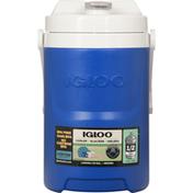 Igloo Cooler, Laguna, Majestic Blue, 1/2 Gallon