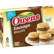 Owens Sausage Biscuits