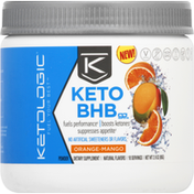 KetoLogic Keto BHB Powder, Orange-Mango