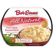 Bob Evans All Natural Farm-Style Roasted Garlic Bob Evans All Natural Farm-Style Roasted Garlic Mashed Potatoes