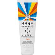 Bare Republic Face Mineral Sunscreen Lotion