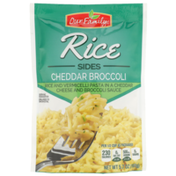Our Family Cheddar Broccoli Rice And Vermicelli Pasta In A Cheddar Cheese And Broccoli Sauce Rice Sides