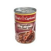 Chef's Cupboard Condensed Vegetable & Beef Soup
