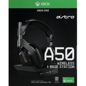 Astro Headset, Wireless + Base Station, A50