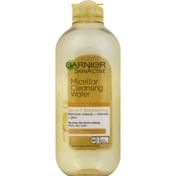 Garnier Micellar Cleansing Water, All in 1, Brightening