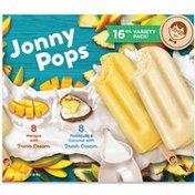 JonnyPops Mango & Cream, Pineapple Coconut & Cream
