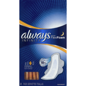Always Overnight Sanitary Pads with Wings